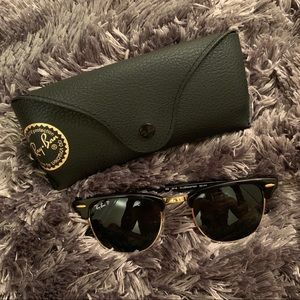 CLUBMASTER CLASSIC RAY BAN SUNGLASSES
